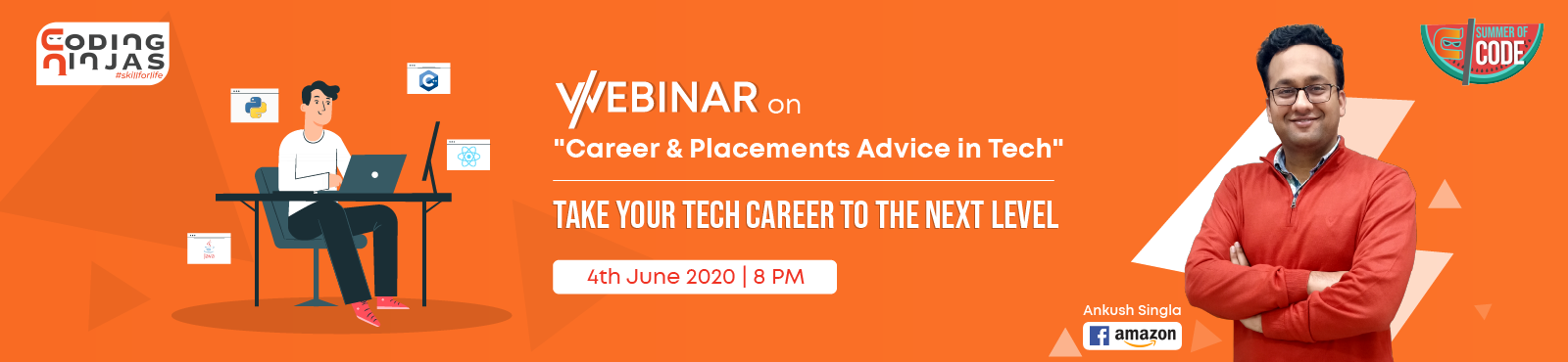 Webinar on Career & Placements Advice in Tech