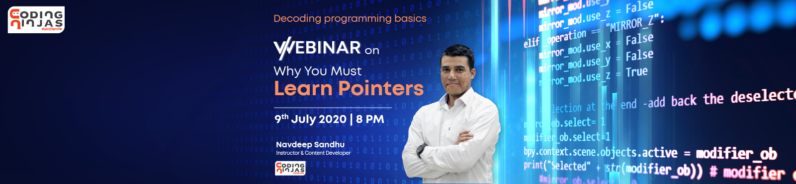 Why you must learn pointers?