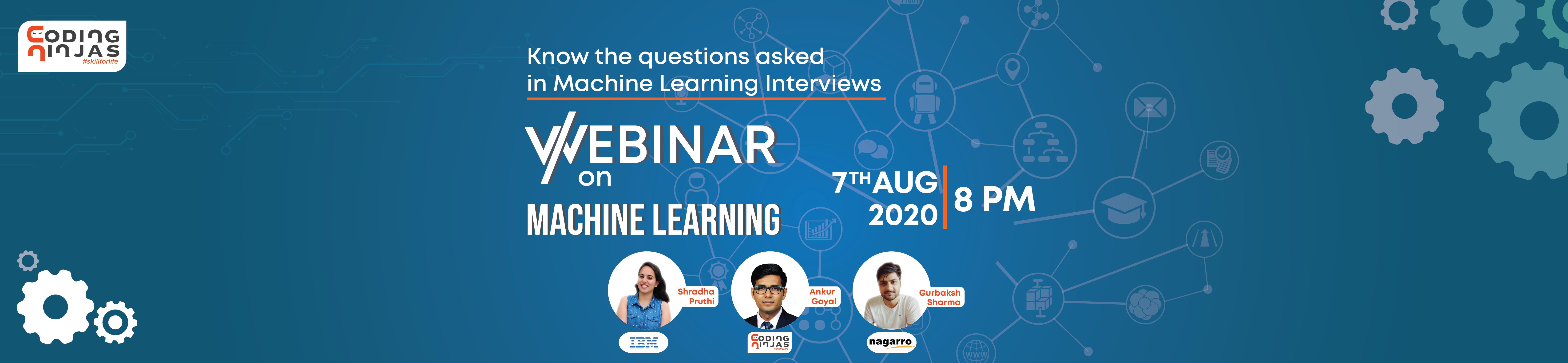Webinar on Machine Learning