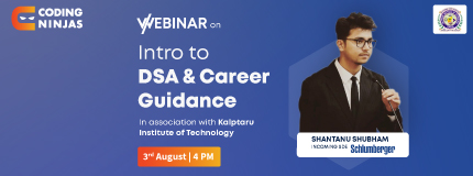 Intro to DSA and Career Guidance | KIT Tiptur
