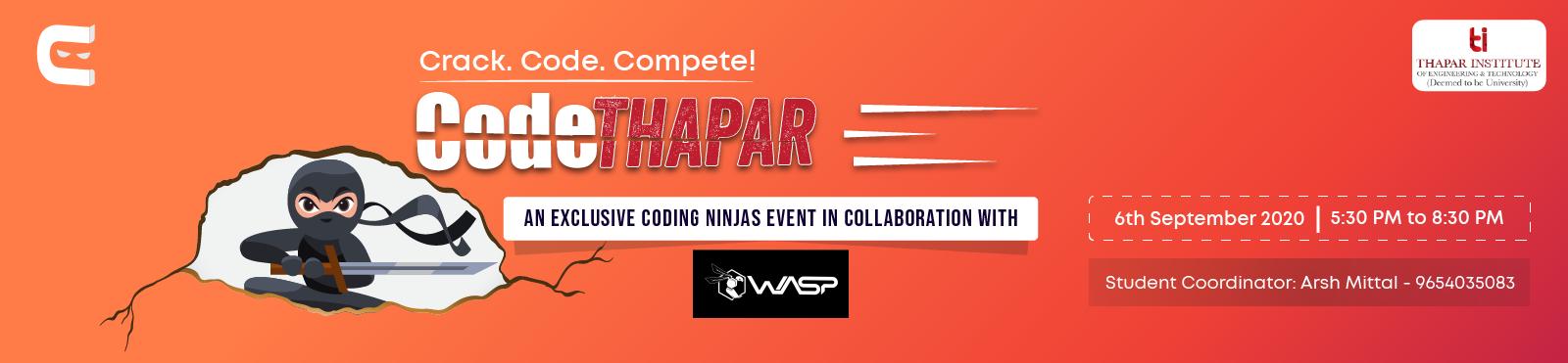 CodeThapar, Path for Interview Preparation
