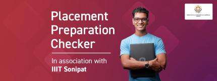 Placement Preparation Checker | IIIT Sonipat