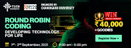 Round Robin Coding Event Chandigarh University