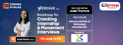 Roadmap to internship and Placement Series | Karunya Institute of Technology and Sciences
