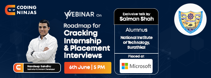 Roadmap to Internship and Placement Series | National Institute of Technology, Surathkal