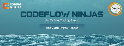 Codeflow Ninjas x Coding Ninjas