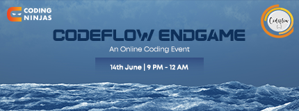 Codeflow Endgame x Coding NInjas