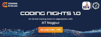 Coding Nights 1.0 | IIIT Nagpur