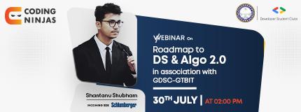 Roadmap to Data structures & Algorithms 2.0 | Guru Tegh Bahadur Institute of Technology