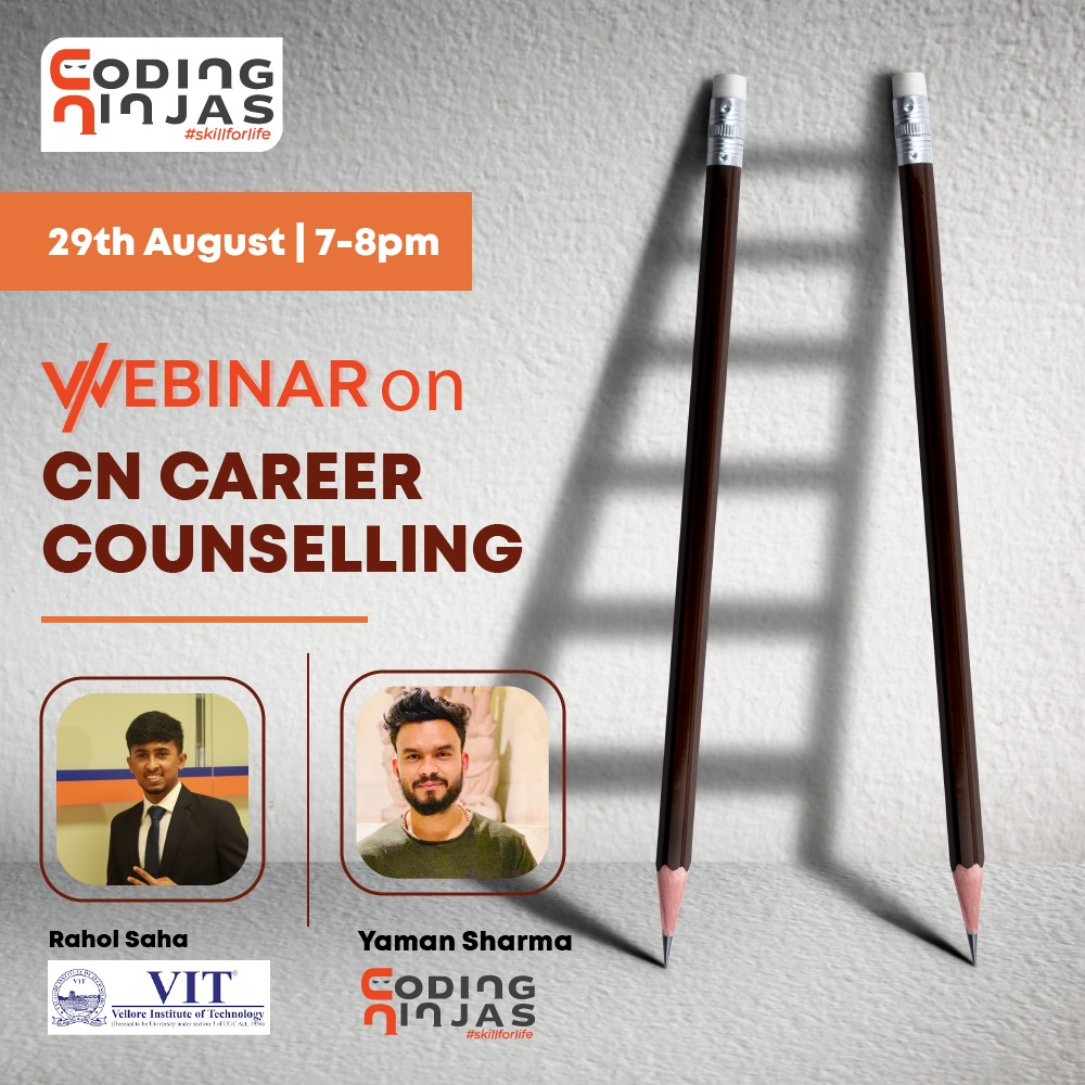 CN Career Counselling Webinar by Alumnus, VIT college