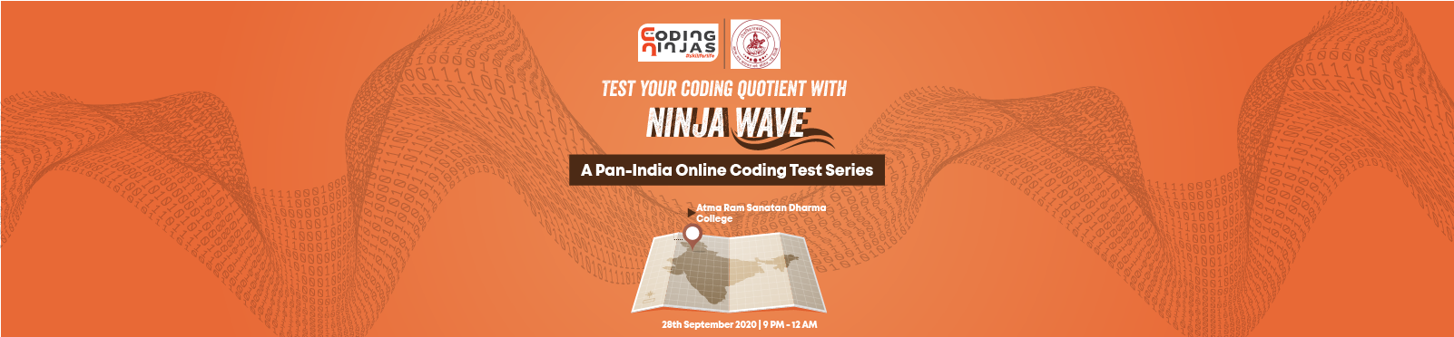 Ninja Wave at Atma Ram Sanatan Dharma College