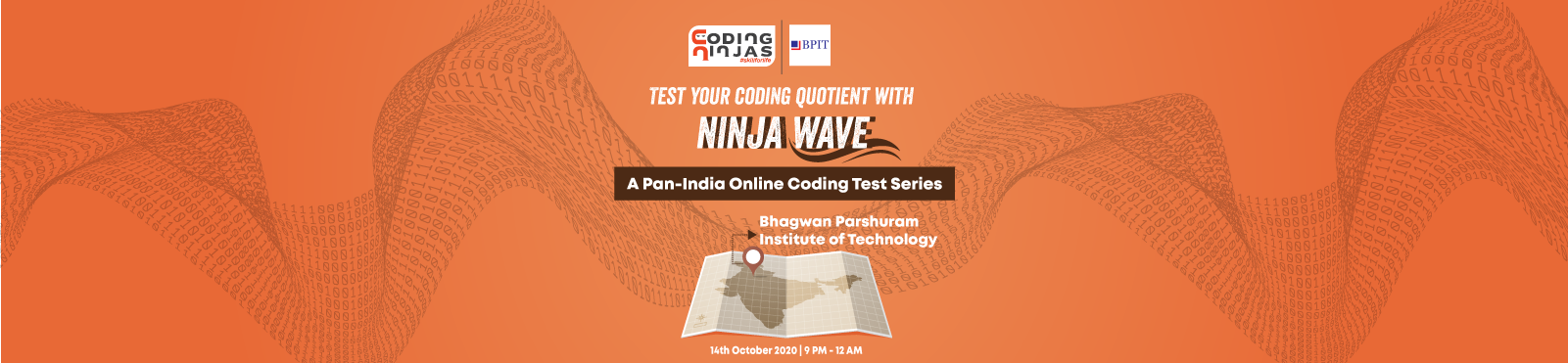 Ninja Wave at Bhagwan Parshuram Institute of Technology