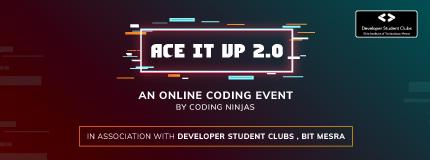 Ace It Up 2.0 | BIT Mesra