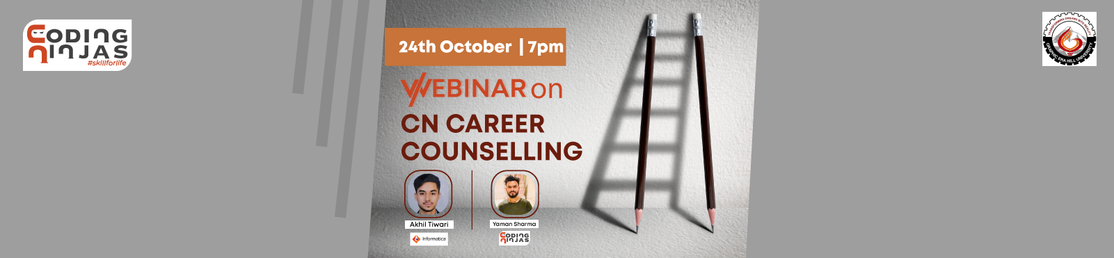 CN Career Counselling Webinar by Alumnus, Graphic Era