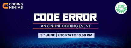 Code Error | KIIT