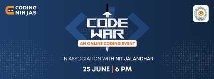 Code War | Dr. B. R. Ambedkar National Institute of Technology Jalandhar