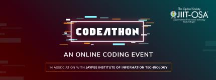 Codeathon| JAYPEE INSTITUTE OF INFORMATION TECHNOLOGY