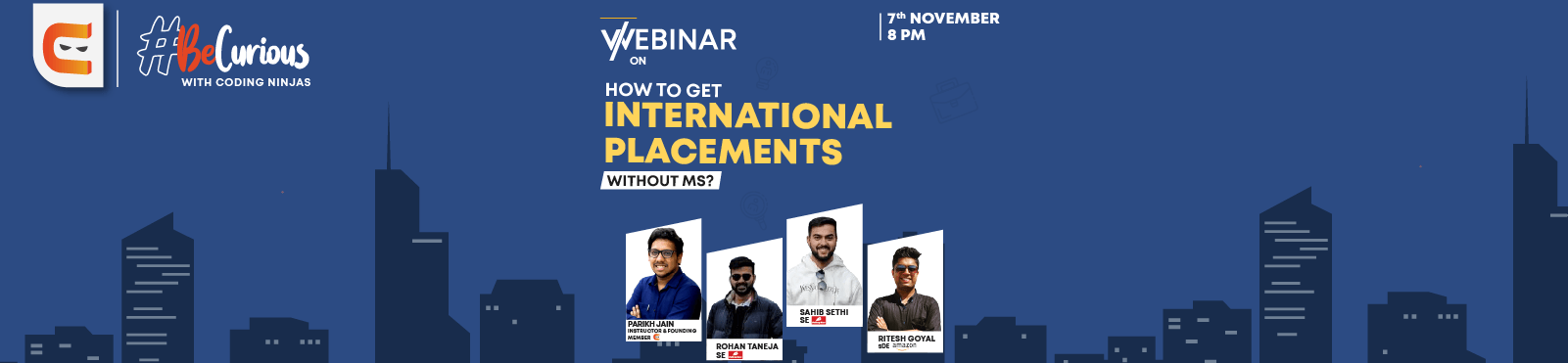 How to Get International Placements with out MS?