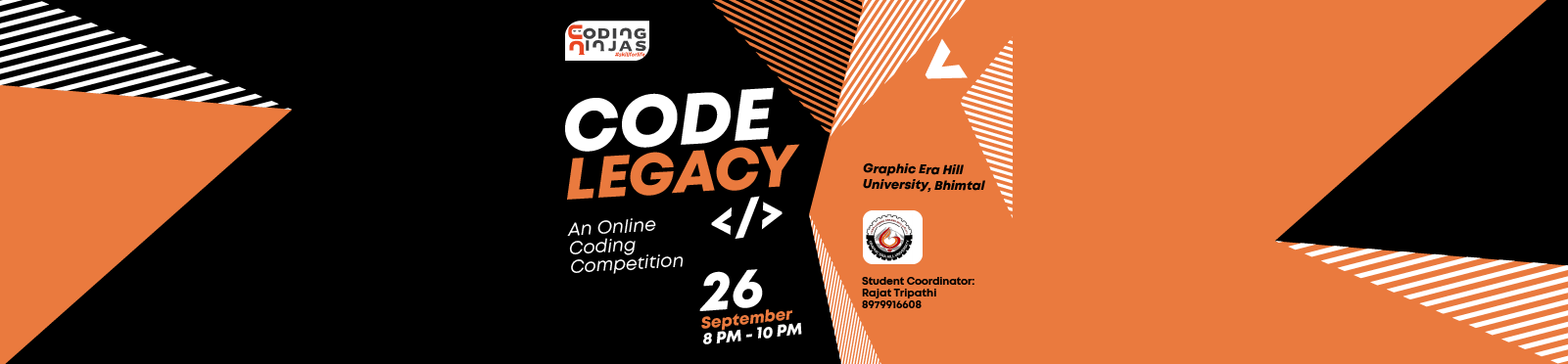 "Code Legacy at ""Graphic Era Hill University, Bhimtal """