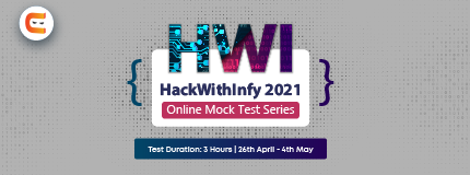 HackwithInfy 2021 Mock Test