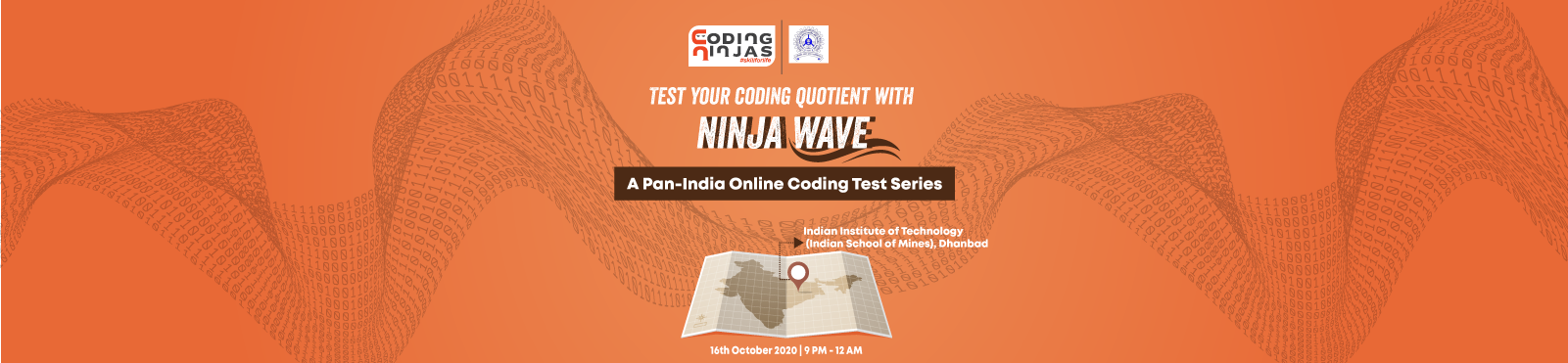 Ninja Wave at Indian Institute of Technology (Indian School of Mines), Dhanbad