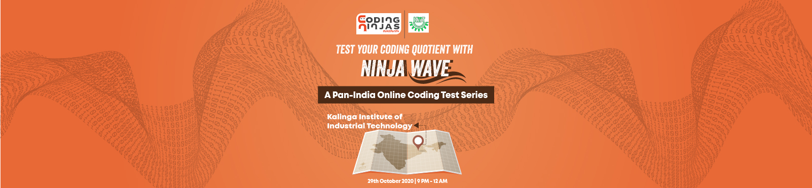 Ninja Wave at Kalinga Institute of Industrial Technology
