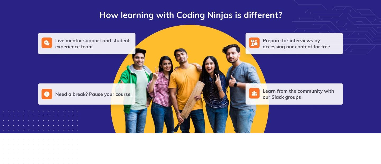 Coding Ninjas features