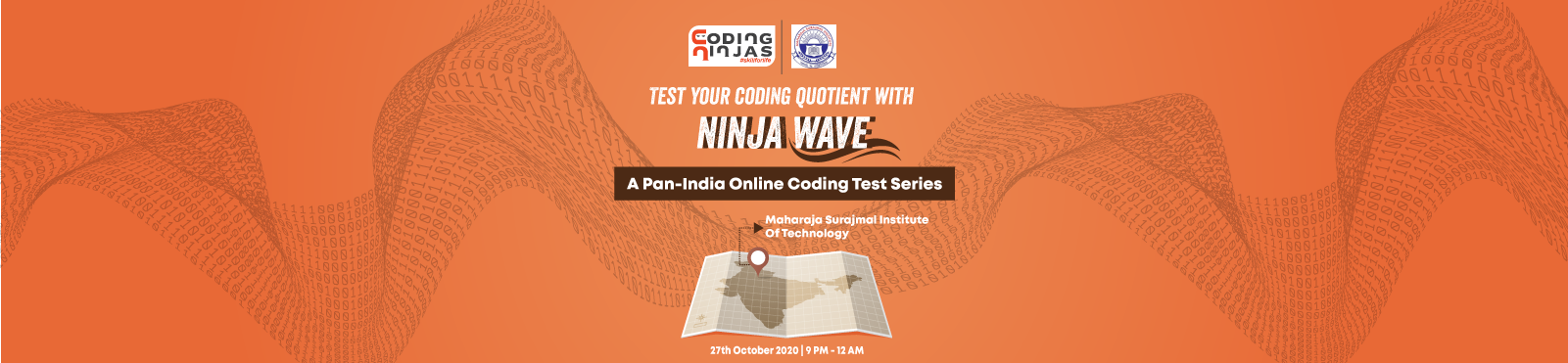 Ninja Wave at Maharaja Surajmal Institute Of Technology
