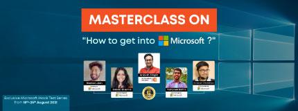 Microsoft Mock Test & Masterclass