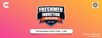 Freshmen Induction at IIIT, Una