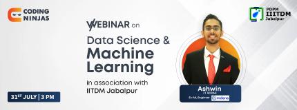 Data science and Machine Learning | IIITDM Jabalpur