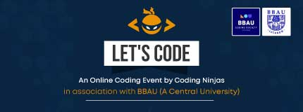Let's CODE | BBAU (A Central University)