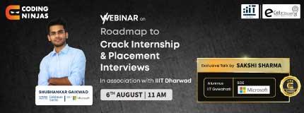 Roadmap to Crack Internship and Placement Interviews | IIIT Dharwad