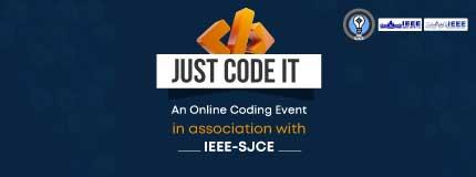 Just Code It   IEEE- SJCE