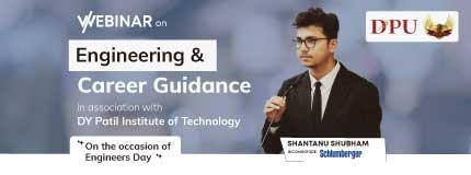 Engineer's Day Webinar | DY Patil college of engineering