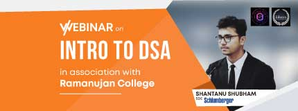 Intro to DSA and Career Guidance | Ramanujan College - DU