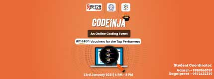 Codeinja at IIT - Ropar