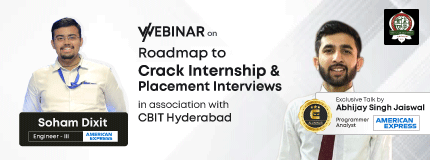 Roadmap to Internships and Placements | CBIT, Hyderabad