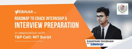 Roadmap to Crack Internship and Placement Interview | NIT Surat
