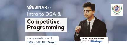Intro to DSA and Competitive Programming Guidance | NIT Surat