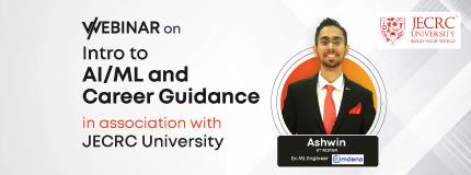 Intro to AI/ML  | Freshman Induction | JECRC University
