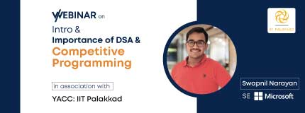 Intro & Importance of Dsa & Competitive Programming | Yet Another Coding Club -   YACC, IIT Palakkad