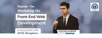 Hands-On Workshop on Front-End Web Development   SVCE, Bengaluru
