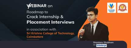 Roadmap to Internships and Placements Interviews   Sri Krishna College of Technology
