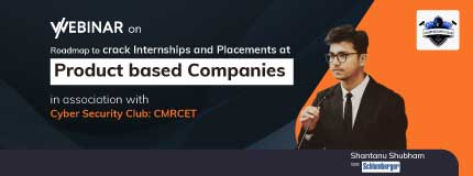 How to crack Internships and Placement in Product based Companies | CMR College of Engineering and Technology