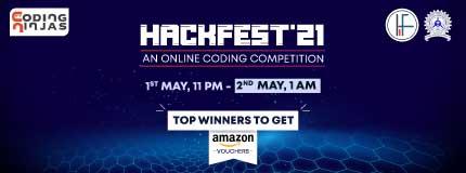 HackFest'21 | IIT(ISM) Dhanbad
