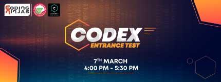 Codex Entrance Test