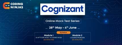 Cognizant Mock Test