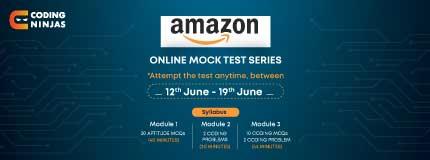 Amazon Mock Test