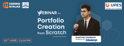 Portfolio Creation from Scratch|UPES Cloud Security Alliance